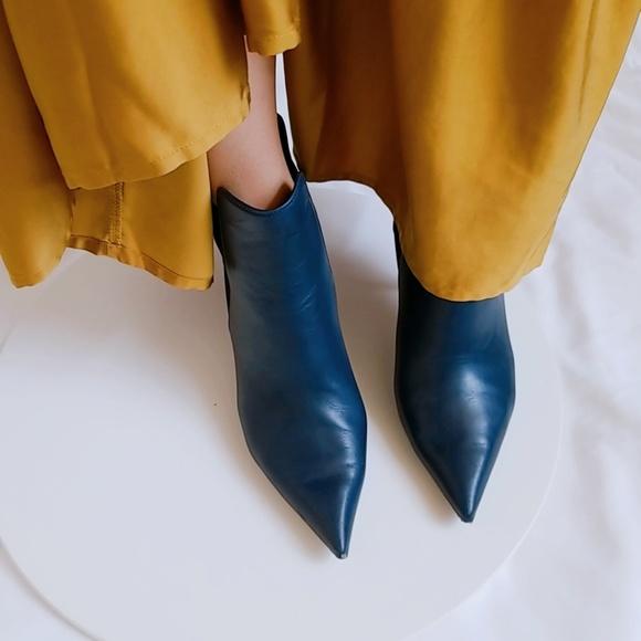 Celine Phoebe Philo Leather Ankle